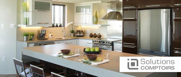 Lechesne mat riaux b nisterie comptoirs portes d 39 armoire - Type de comptoir de cuisine ...